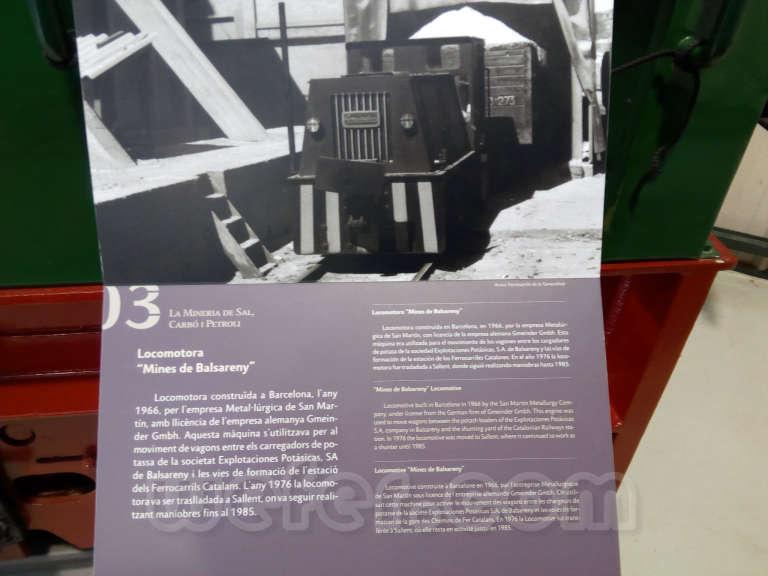 Museo del ferrocarril de La Pobla de Lillet - 2017
