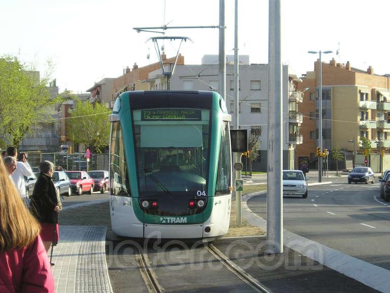 Trambaix - Inauguración 3 de abril de 2004