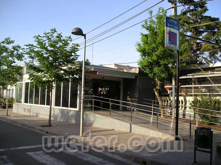 FGC Sant Cugat - Abril 2005