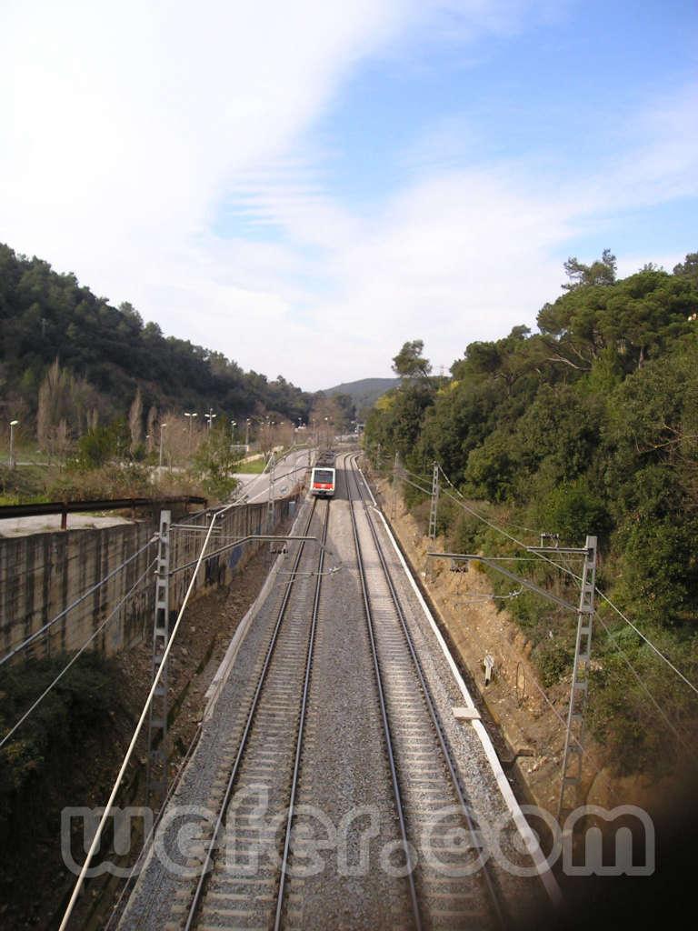 FGC Baixador de Vallvidrera - Febrer 2004