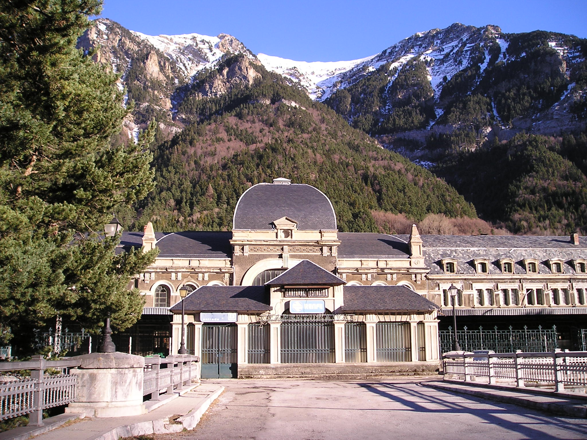 Renfe / ADIF: Canfranc