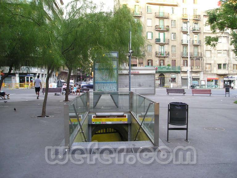 FGC Barcelona Plaça Molina - Agost 2004