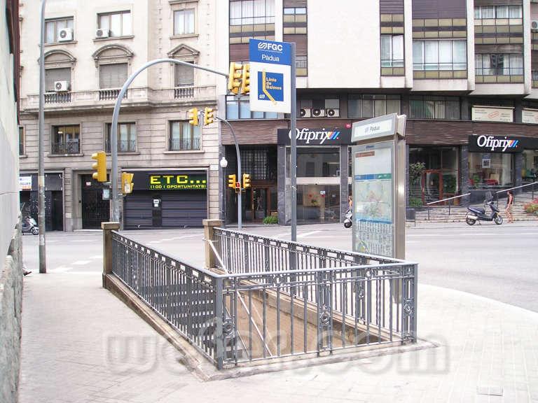 FGC Barcelona Pàdua - Agost 2004