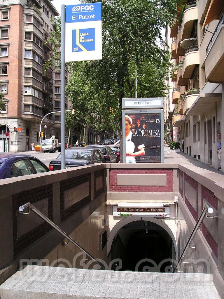 FGC Barcelona El Putxet - Agost 2004