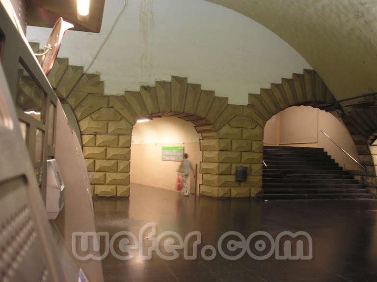 FGC Plaça Espanya - Agost de 2004