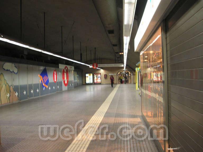 FGC Plaça Espanya - Febrer de 2004