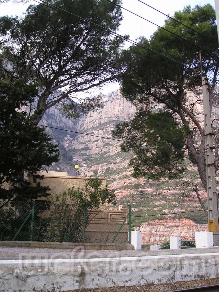 FGC Montserrat Aeri - Febrer 2004