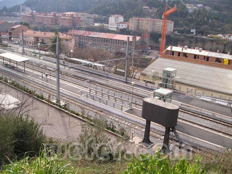 FGC Monistrol Central - Febrer 2004