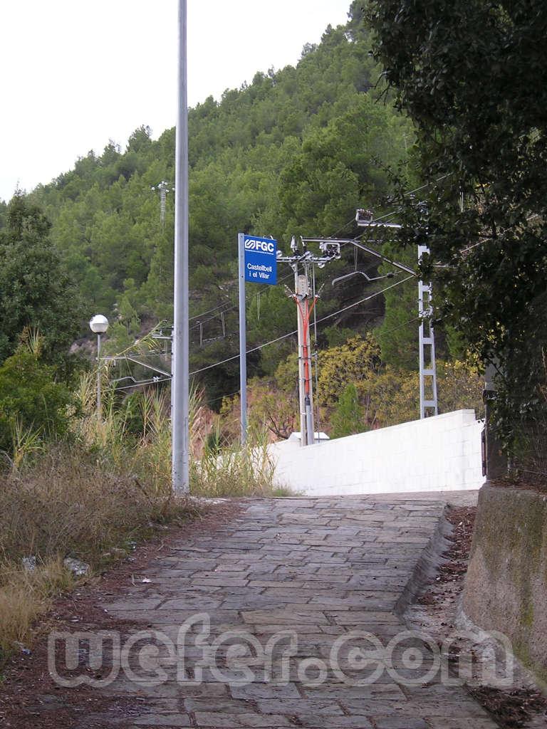 FGC Castellbell i el Vilar - Desembre 2004