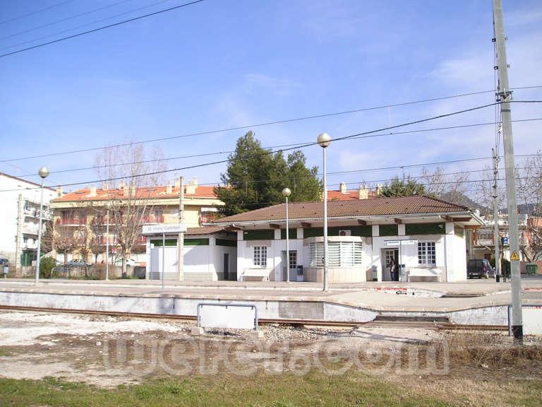 FGC Sant Vicenç de Castellet - Febrer 2004