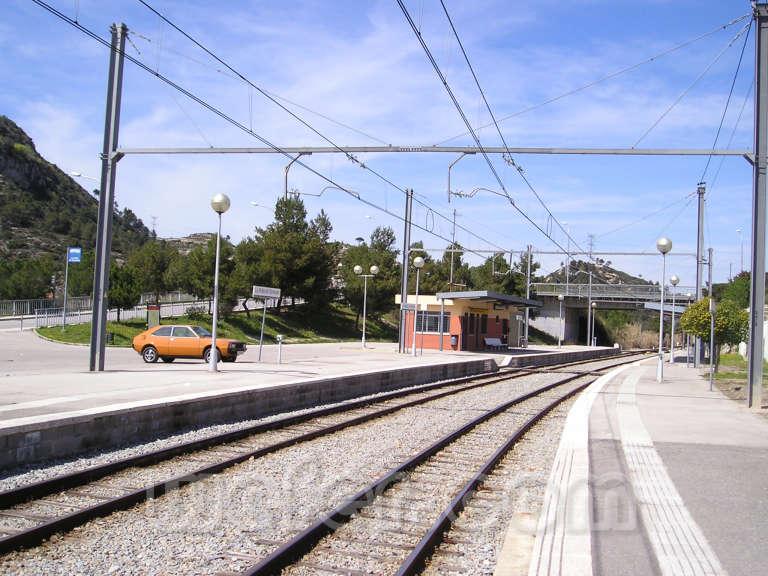 FGC La Pobla de Claramunt - Abril 2004